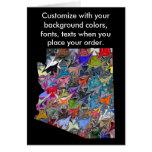 Arizona Customise colourful card how you like