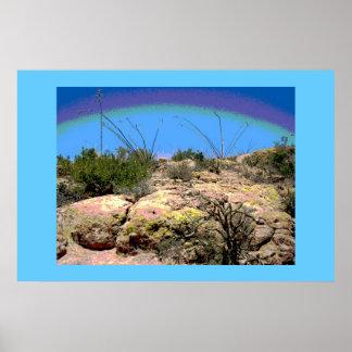 Arizona Desert Scene Print