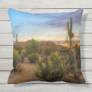 Arizona Desert Sunrise Pillows