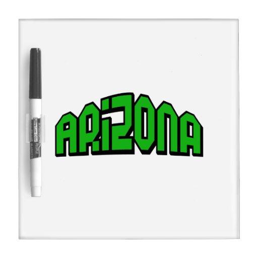 Arizona Dry-Erase Board