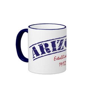 Arizona Established Ringer Coffee Mug