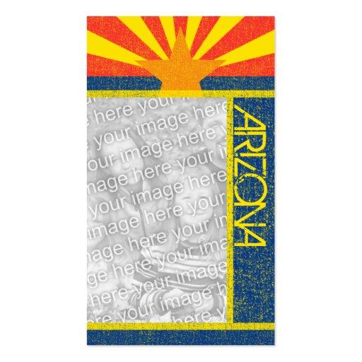 arizona flag business card