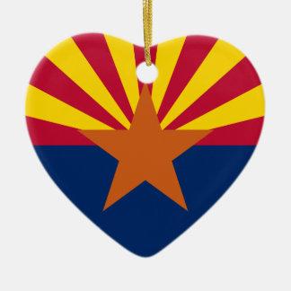Arizona Flag Christmas Ornament