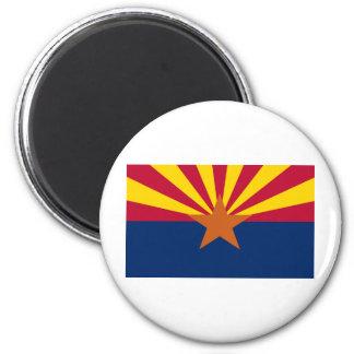 Arizona Flag Refrigerator Magnet