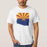 Arizona Flag Map Tees