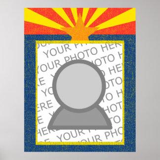 arizona flag poster