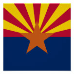Arizona Flag Posters