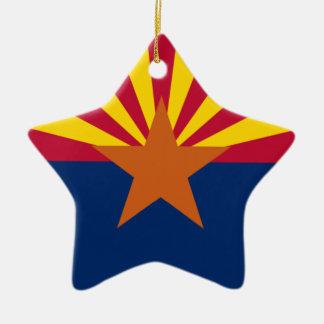 Arizona Flag Star Ornament