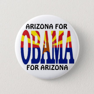 ARIZONA FOR OBAMA Button