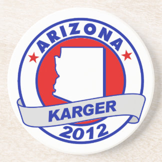 Arizona Fred Karger Coasters