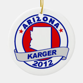 Arizona Fred Karger Ornament