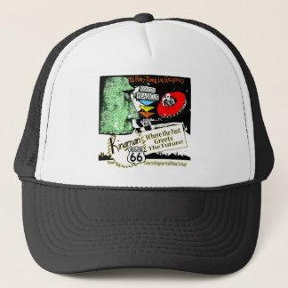 Arizona Fun-Time 1950s style Alien UFO Route 66 Trucker Hat