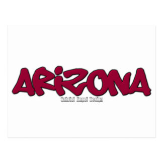 Arizona Graffiti Postcard