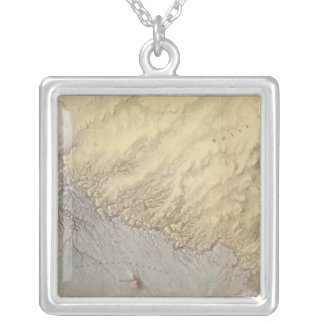 Arizona Grand Canyon Silver Plated Necklace