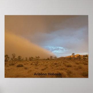 Arizona Haboob Poster