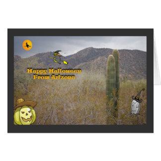 Arizona Halloween Card