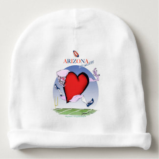 arizona head heart, tony fernandes baby beanie