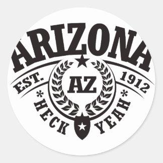 Arizona Heck Yeah Est 1912 Stickers