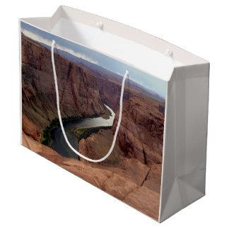 ARIZONA - Horseshoe Bend A - Red Rock Large Gift Bag