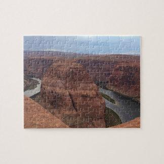 ARIZONA - Horseshoe Bend AB - Red Rock Jigsaw Puzzle