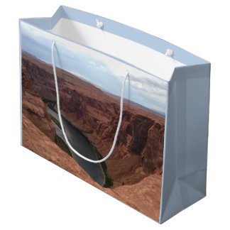 ARIZONA - Horseshoe Bend B - Red Rock Large Gift Bag
