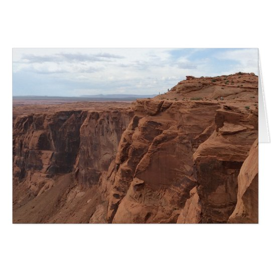 ARIZONA - Horseshoe Bend C - Red Rock Card