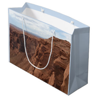 ARIZONA - Horseshoe Bend C - Red Rock Large Gift Bag
