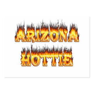Arizona Hottie Fire and Flames Pack Of Chubby Business Cards