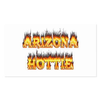 Arizona Hottie Fire and Flames Pack Of Standard Business Cards