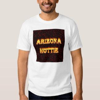 Arizona Hottie flames and fire T-shirts