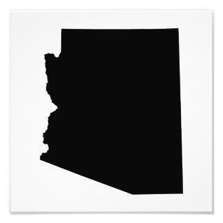 Arizona in Black Photo Print