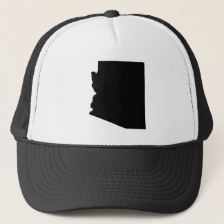 Arizona in Black Trucker Hat