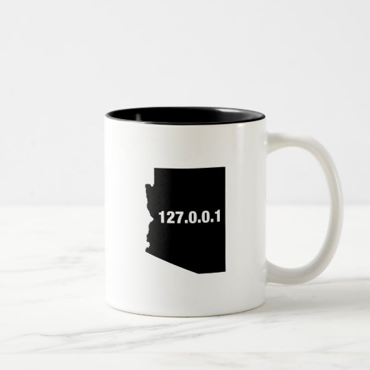Arizona Is Home Programmer Two-Tone Coffee Mug
