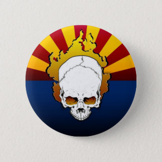 Arizona...It's a Dry Heat 6 Cm Round Badge
