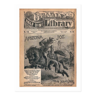 Arizona Joe - Beradle's Half Dime Library Postcard