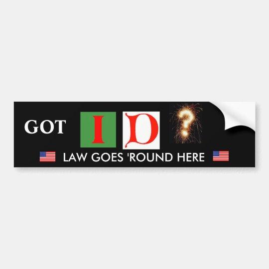 Arizona Law Support Bumper Sticker