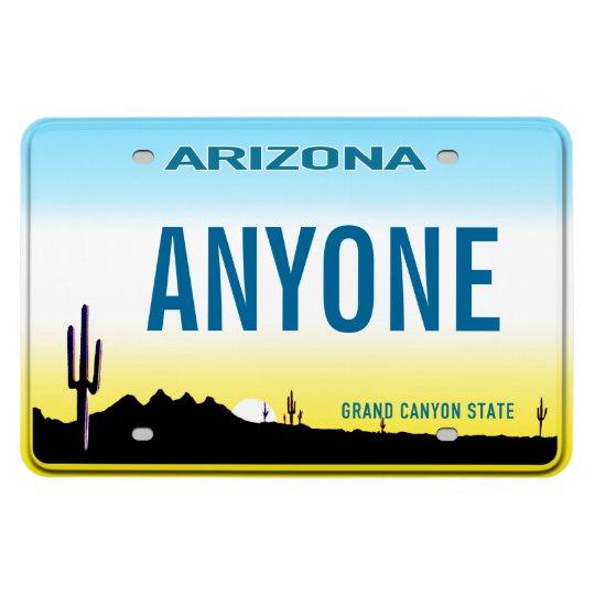 Arizona License Plate (personalised) Rectangular Photo Magnet
