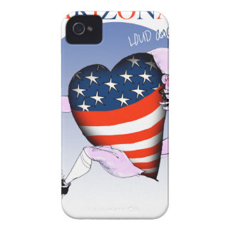 arizona loud and proud, tony fernandes iPhone 4 Case-Mate cases