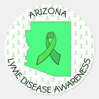 Arizona Lyme Disease Awareness StickerS
