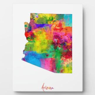 Arizona Map Photo Plaque