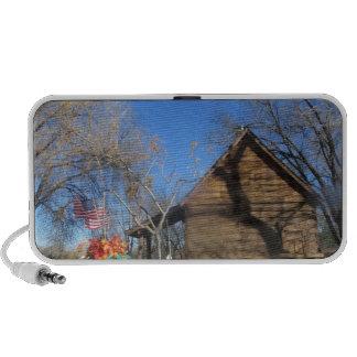 Arizona Mormon Cabin Notebook Speakers