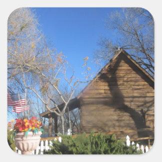 Arizona Mormon Cabin Stickers