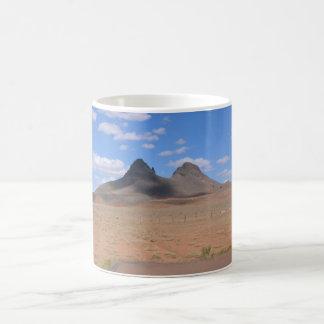 Arizona Mountain Basic White Mug
