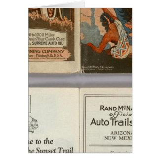 Arizona, New Mexico auto trails Card