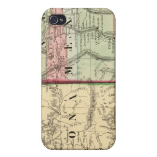 Arizona, New Mexico Map by Mitchell iPhone 4 Cover