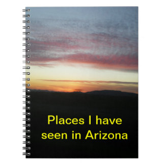 Arizona Note book