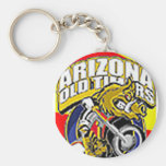 Arizona Old Timers Javelina Keychain Round2