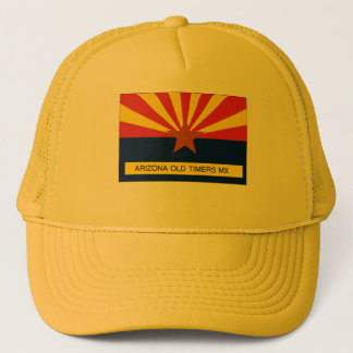 Arizona Old Timers MX Flag Trucker Hat
