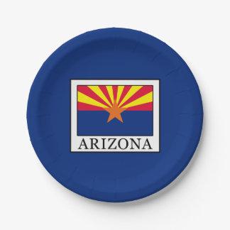 Arizona Paper Plate