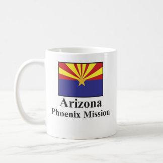 Arizona Phoenix Mission Drinkware Basic White Mug